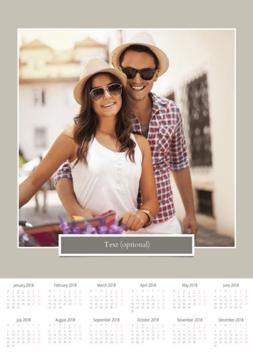 Poster A3 calendar