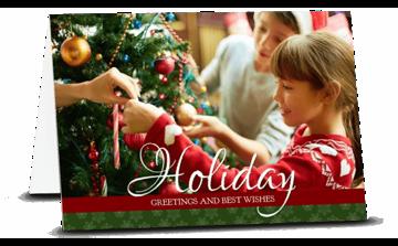 Bild von Weihnachtskarte