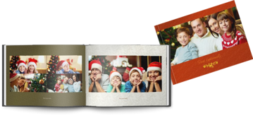 Picture of Printed Softcover A4 landscape christmas
