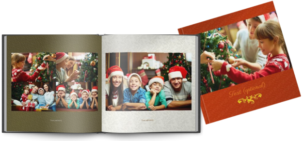 Picture of Printed Hardcover 20x20cm christmas
