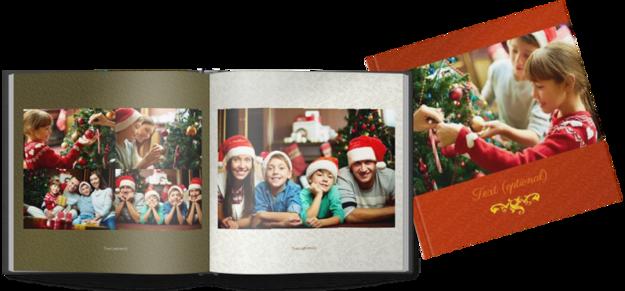 Billede af Printed Hardcover 20x20cm christmas