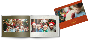Picture of Printed Hardcover A4 landscape christmas